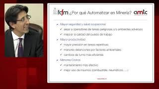 Robótica y equipos autónomos en minería por Javier Ruiz del Solar en Comisión de Minería de  Ca
