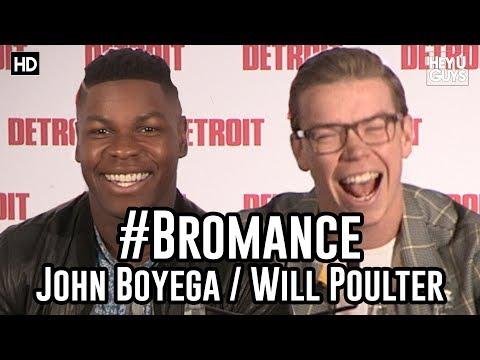 The first time John Boyega met Will Poulter
