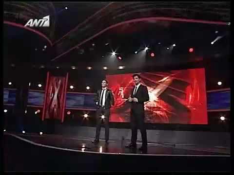 X Factor 2008 - Live show 1 -  Nikolas Metaxas - Fairytale