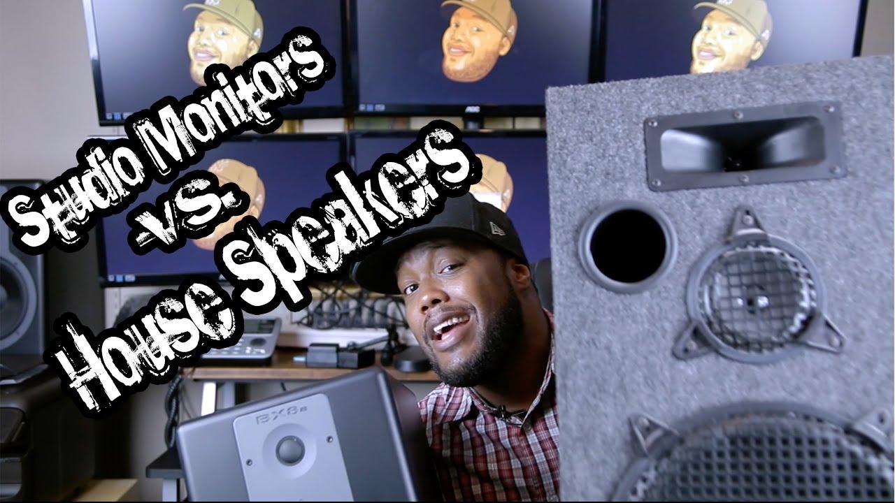 studio monitors vs house speakers youtube. Black Bedroom Furniture Sets. Home Design Ideas