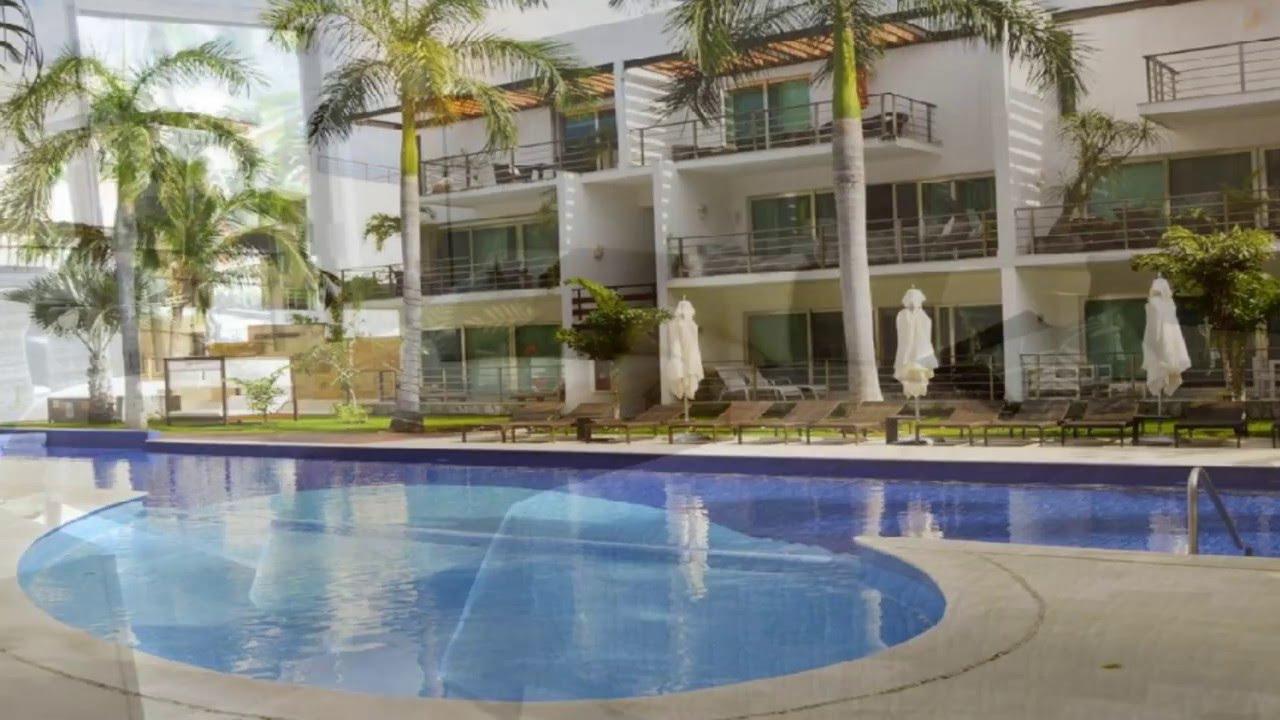 V38 Luxe Apartments ***** - Playa del Carmen, México - YouTube