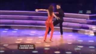 Zendaya Coleman & Val Chmerkovskiy - Samba
