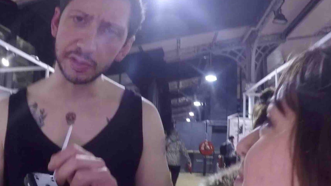 Les Folies De Marion Le Mondial Du Tatouage Avec Monsieur Poulpe Youtube