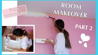 ROOM MAKEOVER PART 2: painting the walls