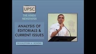 UPSC CSE Daily News Analysis Newspaper The Hindu 20th June 2018