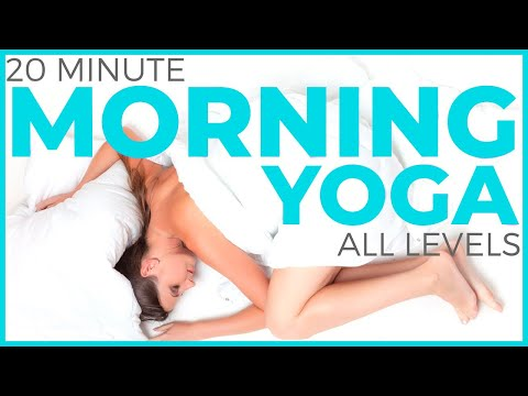 20 Minute Mindful Morning Yoga Practice (all levels)