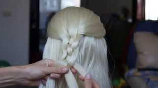 Плетение.Коса из 4 прядей.