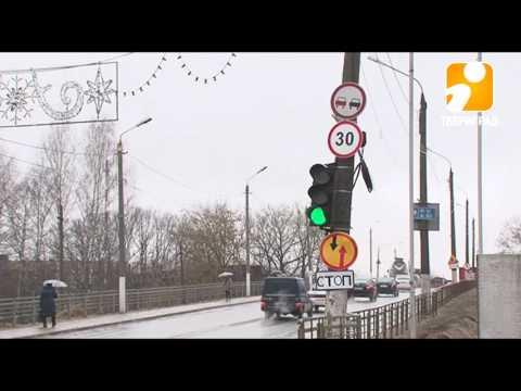 В Твери перекрыли Горбатый мост. 2017-04-03