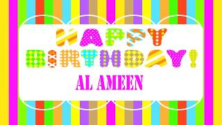 AlAmeen   Wishes & Mensajes - Happy Birthday