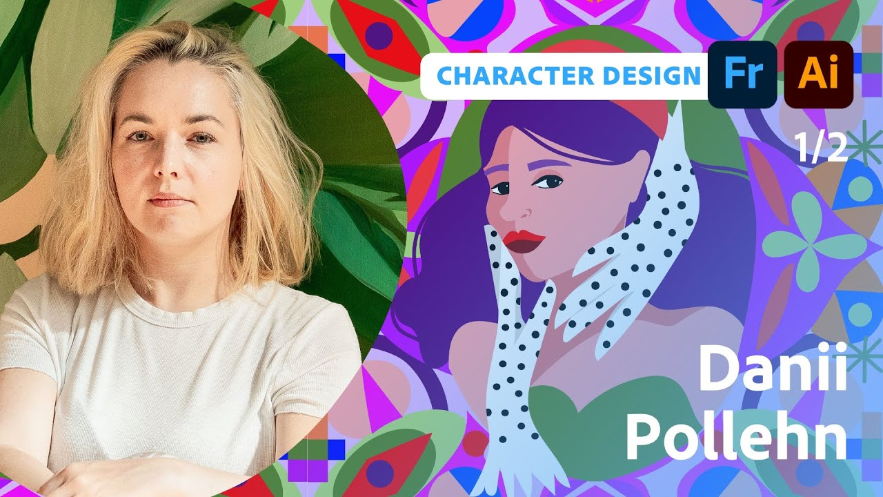 Drawing a Portrait Series with Danii Pollehn - 1 of 2
