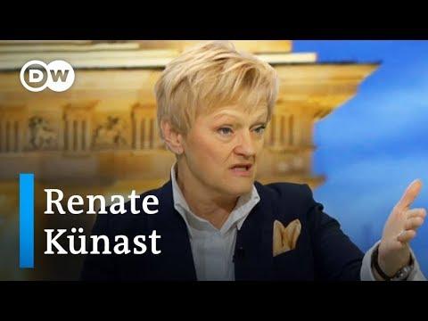 FKK oder AKK? Renate Künast im DW-Gespräch | DW Nachrichten