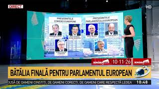 Batalina finala pentru Parlamentul European