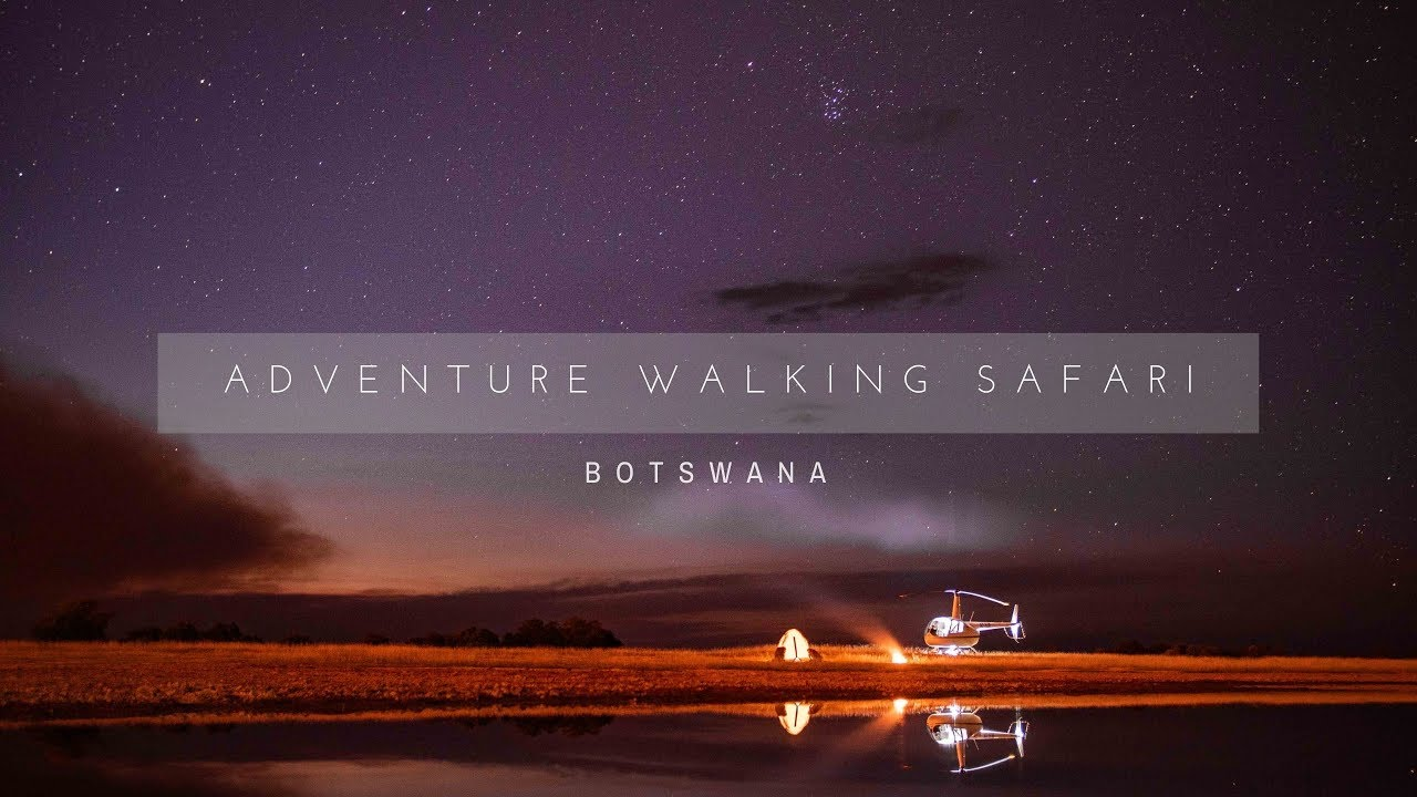Adventure Walking Safari | Botswana