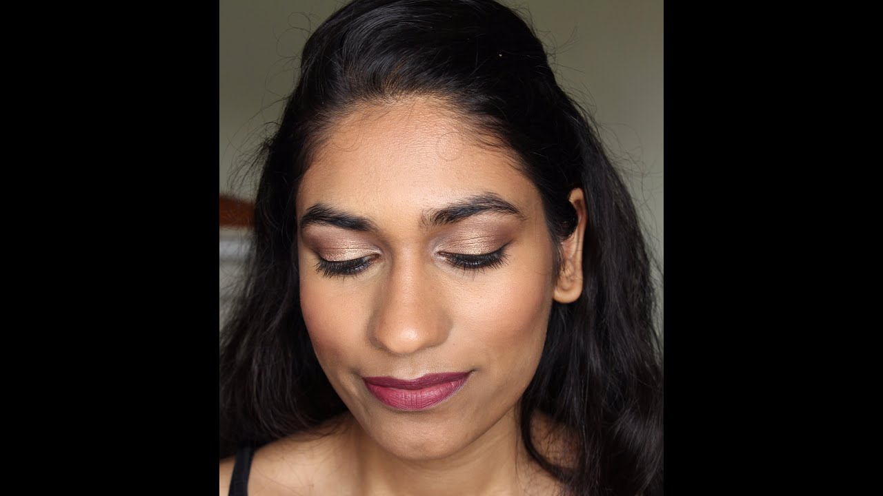 Simple Indian Wedding Guest Makeup