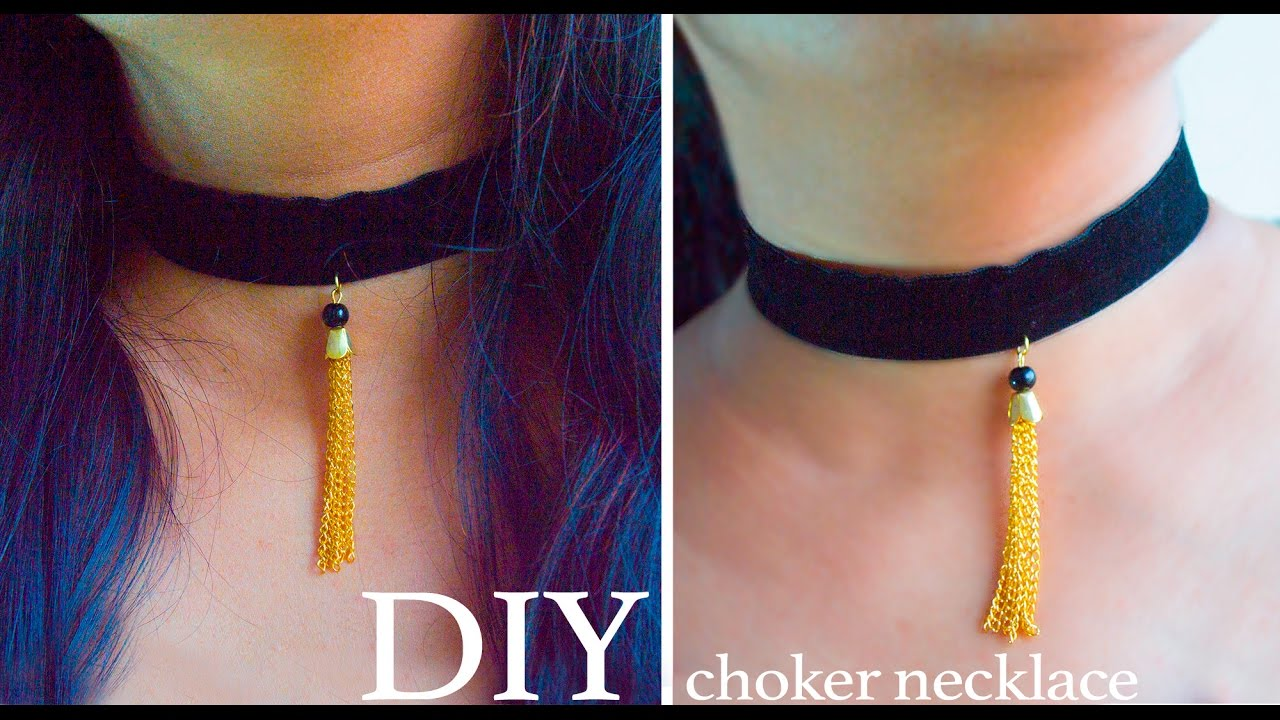 How to weave a choker 38