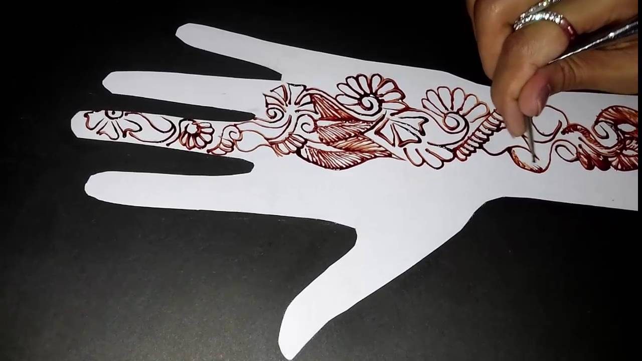 Easy Mehndi Tutorial : New stylish simple easy mehndi henna designs for beginners