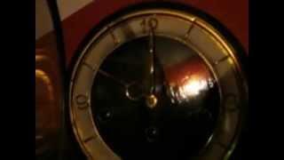 """Hermle"" westminster mantel clock"