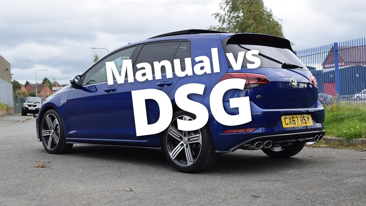 manual vs dsg vw golf r 2018 310ps youtube rh youtube com vw golf gti dsg vs manual vw golf r dsg vs manual