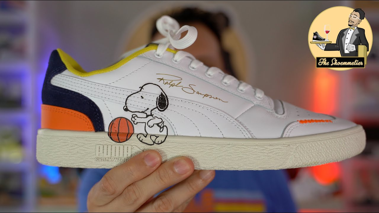 Happiness IS fresh sneakers for the spring! • PUMA x PEANUTS Ralph Sampson