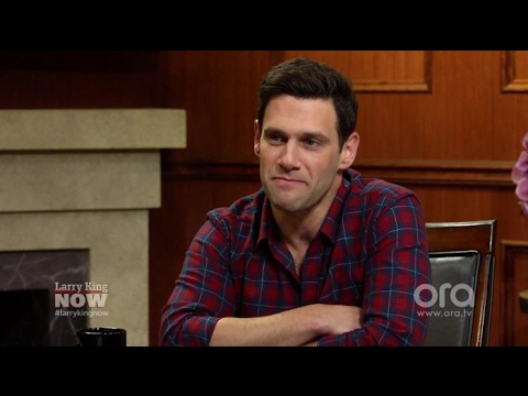 Justin Bartha opens up about Ashley Olsen  Larry King Now  Ora.TV