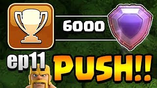 130000+ LEGENDS!  TH11 Trophy Push to Top 200 ep11 | Clash of Clans