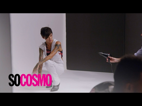 """""""So Cosmo"""" Goes Inside Ruby Rose's Cover Shoot 