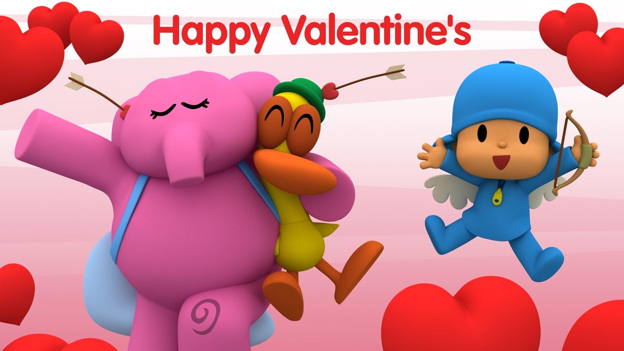 Pocoyo The Love Bundle Valentine S Day Youtube