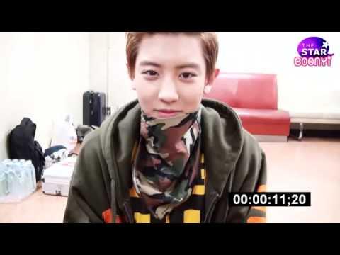 Eyes contact with EXO CHANYEOL