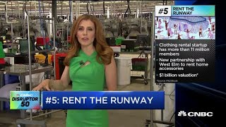 Take a look inside Rent the Runway's fulfillment center