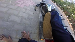 Nazar Hati Durghatna Ghati   Motorcycle crash