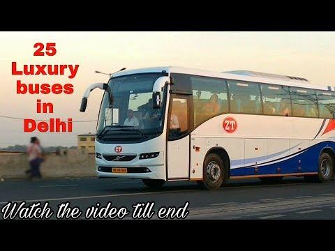 25 Luxury Buses In Delhi  India's Luxury Buses