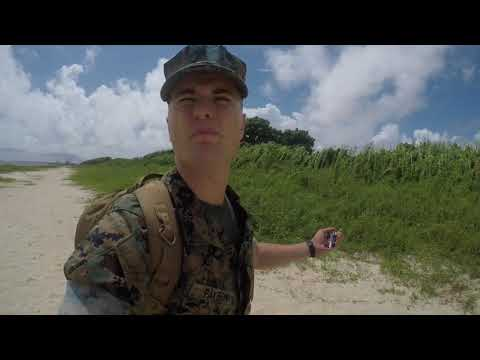 Marine on NAS Pensacola Beach