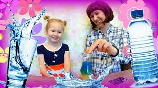 Опыты с водой для детей | Water Experiments for Kids