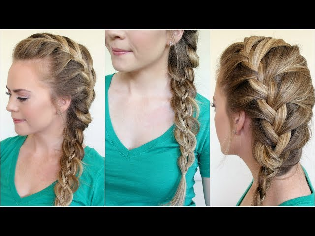 4 ways to side braid hair wikihow ccuart Gallery