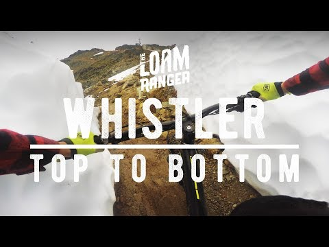 WHISTLER TOP TO BOTTOM // 40 Minutes Uncut
