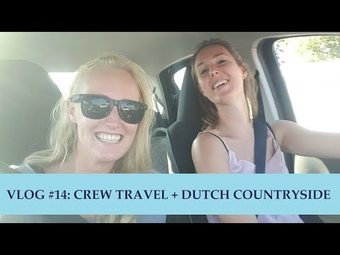 Pilot Lindy VLOG #14: Crew travel + Dutch Countryside