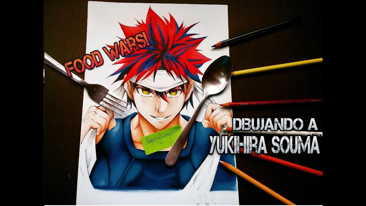 Food Wars! Yukihira Souma - Speed Drawing by Gerry Lagann