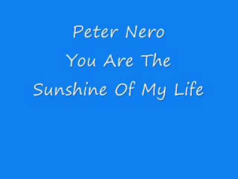 Peter Nero - You Are The Sunshine Of My Life