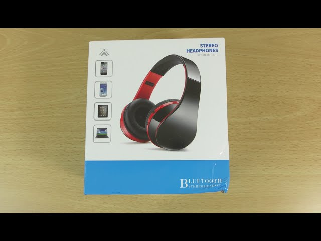 Andoer Foldable Wireless Bluetooth Stereo Headphone Review Youtube