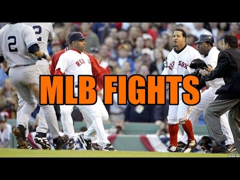Sports Fights Compilation – MLB Fights #1