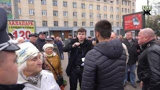 9 травня у Житомирі: сутички та конфлікти під час мітингу (18+)