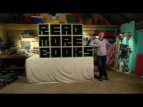 Better Homes and Gardens DIY How to make a bookcase YouTube