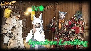 FFXIV: Levelling Jobs In the Adventurer Squadron Pretty Fast! (FIXED AS OF 4.15)