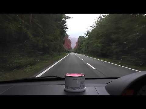 Musical Road near Mt Fuji in Japan/富士山の近い音楽の道。