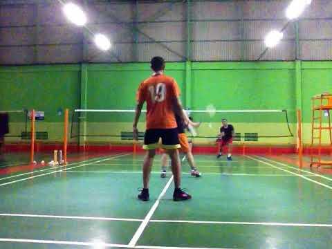 Badminton SuperSeries 20180425 Udin Yoyo VS Natan