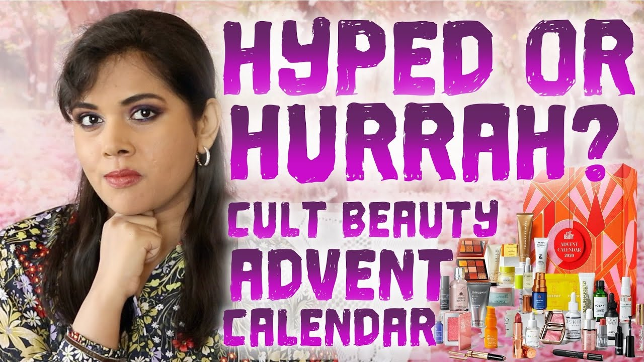 Cult Beauty Advent Calendar 2020 Price Breakdown Spoilers Thoughts Youtube