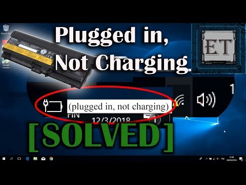 "How to Fix Laptop Battery ""Plugged in, Not Charging"""