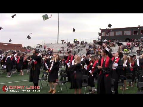 Okoboji Broadcast with Jeff Thee   Spirit Lake High School Class of 2020 Graduation