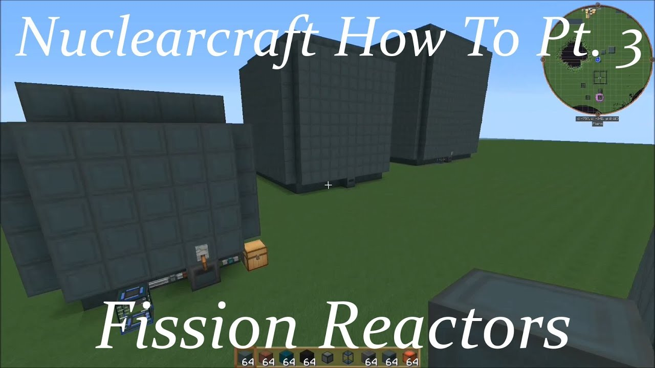 Nuclearcraft How To Pt  3: Fission Reactors