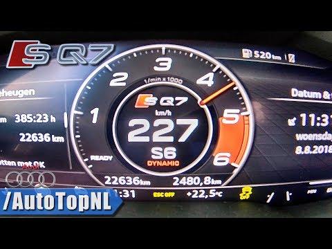 คลิปออกตัว Audi SQ7 แตะ 100 ใน 4.8 วินาที รถถังพลังล้น